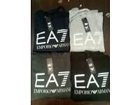 Ea7 and Adidas hoodys