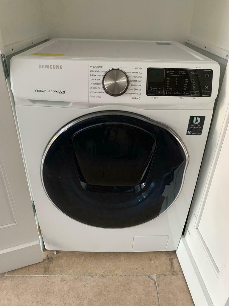 SAMSUNG - QuickDrive + Addwash WD80N645OOW Smart 8 kg Washer Dryer | in  Esher, Surrey | Gumtree