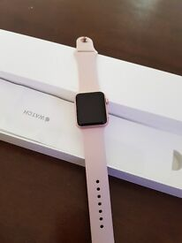Apple watch rose pink