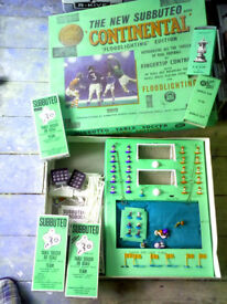 Subbuteo - Continental 'Floodlighting' Edition From 1970's (2 Floodlights Only) Plus 3 More Teams