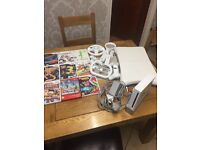 Nintendo Wii Console with 9 games and a range of accessories