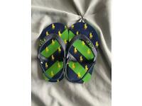 Babies Ralph Lauren flip flops size 3-4