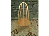 Set of 4 Ercol Quaker Dining chairs