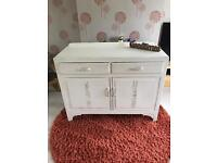 Beautiful shabby chic sideboard / cabinet / cupboard / drawers