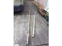 21ft mast with 9ft Proctor Boom