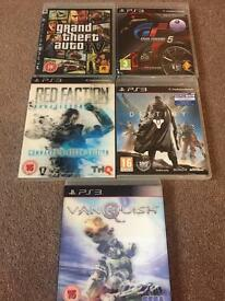 PlayStation 3 games bundle, GTA, Gran Turismo