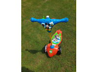Disney Mickey Mouse My First Activity Scooter RRP45, VGC