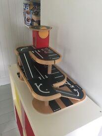 Toy garage wooden
