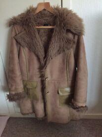 Warm cosy ladies coat