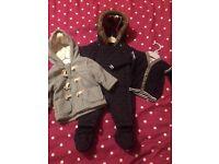 Boys 3-6 months winter clothing bundle