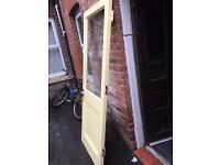 Front or rear exterior Door