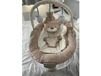 Mothercare brown bear baby chair