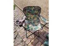 1 x Adults & 1 x Childs folding camping chair