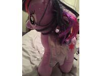 Twilight sparkle plush toy large (free tutu)