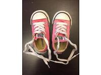 USED Children's Converse, size 5