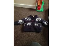 Boys jumpers/cardigans