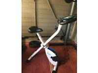 Davina exercise bike with pulse, speed, etc
