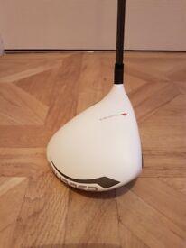 TaylorMade Burner superfast 2.0 9.5 degree driver. Stiff Matrix ozik shaft with golf pride grip..