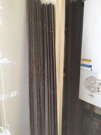 Wooden Venetian blinds x 2