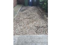 Gravel. Suitable for garden/driveways etc FREE