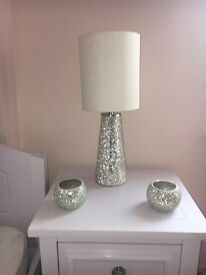 Next lamp & candle holders