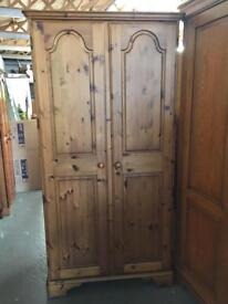 ** DUCAL PINE WARDROBE IN EXCELLENT CONDITION **