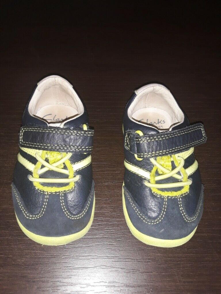 ccdccdf1895 Clarks Baby Boys First Shoes uk size 3 G