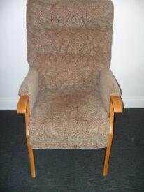 Orthopedic High Back Chair