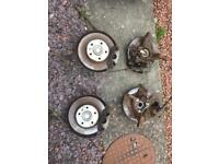 Vauxhall Astra mk4 coupe estate van 5 stud conversion with rear discs