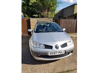 Renault Megane 1.6 VVT Dynamique 5dr; New MOT with no advisories; New Timing belt, tyres and battery