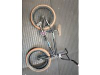 Bmx bicycle for park only stunt bike