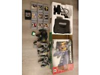Nintendo 64 Boxed x3 Controllers x9 Games x2 Memory Cards