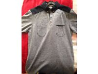 clothing polo shirts x4/jumpers x3 (Small)