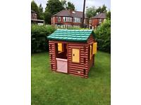 LITTLE TIKES/TYKES LOG CABIN , NEW RRP IS £379.99