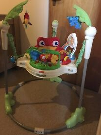 Baby jumperoo, baby snug seat and baby walker
