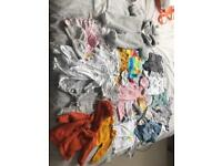 Unisex/girls 0-3 months, new born, sleep/swaddle bags, brand new & outgrown
