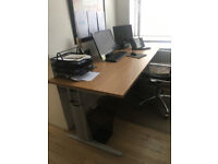 professional office rectangle desk table