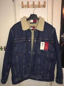 Tommy Hilfiger denim Sherpa jacket (brand new with tags)