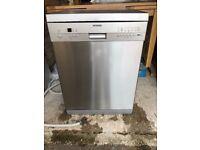 Siemens silver dishwasher
