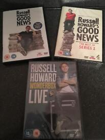 Russell Howard's good news DVD's NEW