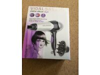Used Vidal Sassoon 2000W Dryer for SALE