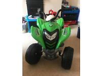 Electric kids moped - used twice - bargain