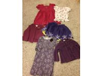Bundle of girls clothes, ages 1.5-6, monsoon, mini club, Jojo Mamen Bebe, used, Collection only.