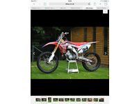 Honda cr 250 .. like new .. not crf kx rm yz ktm