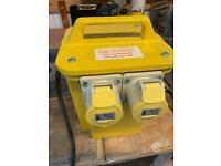 Portable tool transformer 230V to 110V