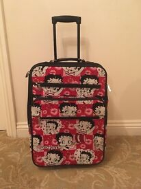 Betty Boop suitcase