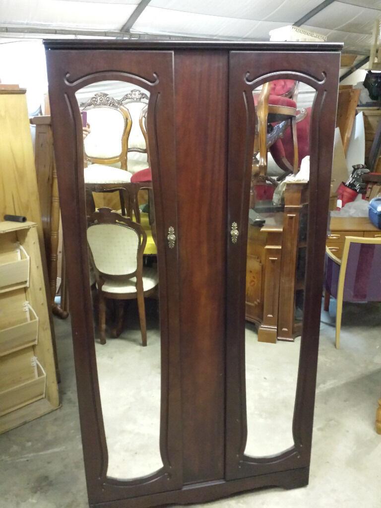 mahogany wardrobe. newryin Newry, County DownGumtree - mahogany wardrobe. H 184 W 97 D 55 cm. 55 pound. ..free delivery in newry
