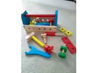 Melissa and Doug take-along wooden toolkit