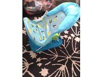 Blue baby bath chair