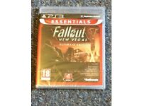 Fallout New Vegas Ultimate Edition For PlayStation 3 (NEW)
